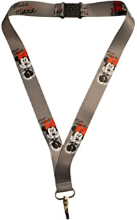 Disney Lanyard Mickey & Gang w/ Name Tag New 85927: Amazon ...