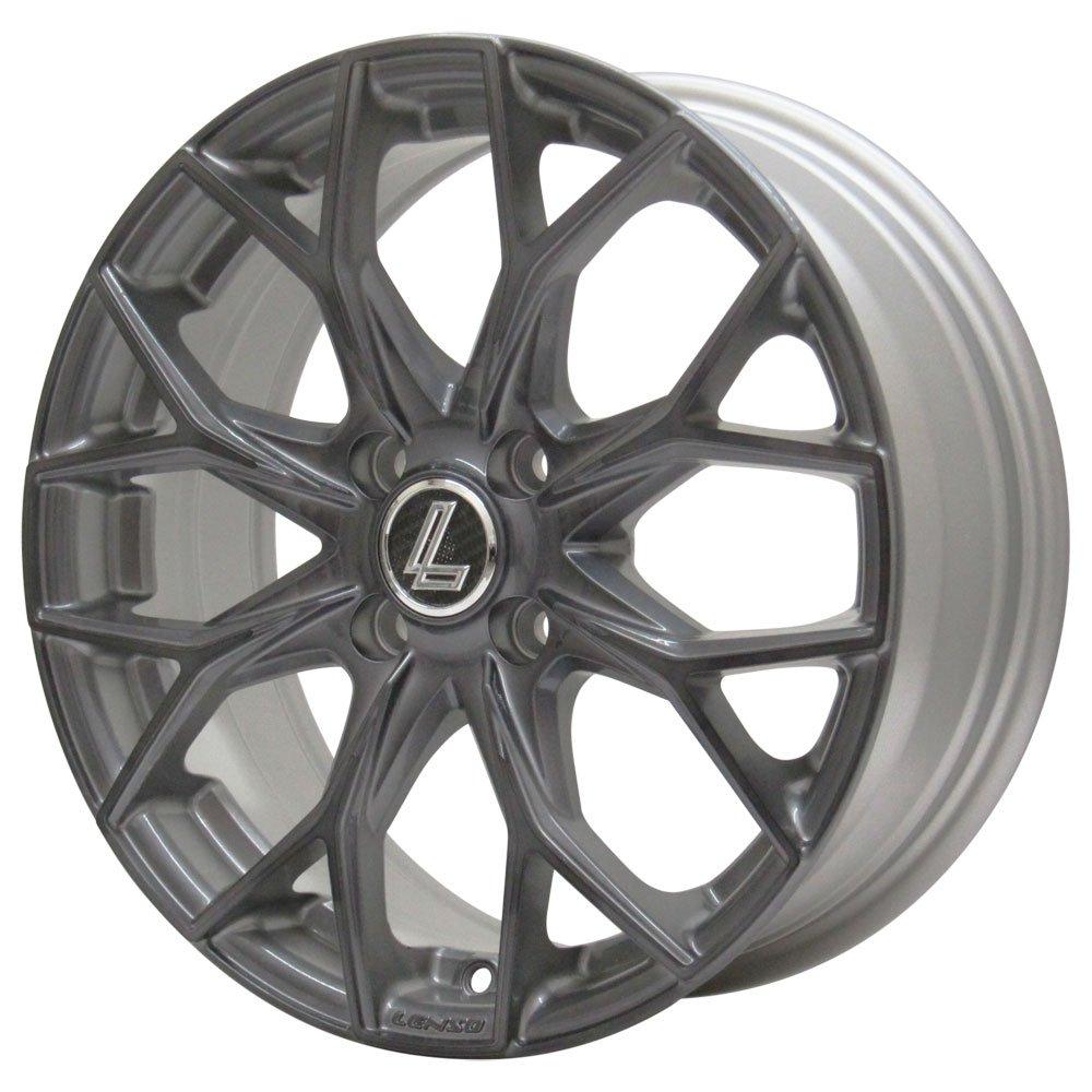 ZEETEX(ジーテックス) サマータイヤ&ホイール ZT1000 185/55R15 LENSO(レンソ) 15インチ 4本セット B01MRZLPEX