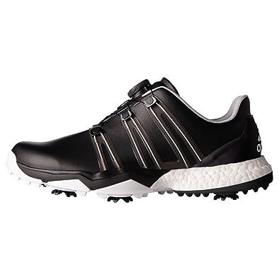 quality design 1a2a9 cb012 adidas Powerband Boa Boost WD, Zapatos de Golf para Hombre, Negro Blanco,  44.6 EU  Amazon.es  Zapatos y complementos