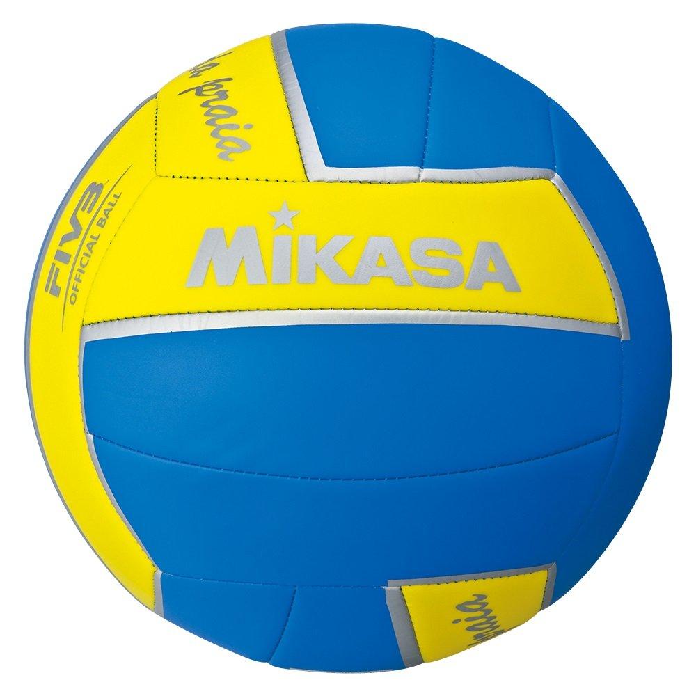 Beachvolleyball Mikasa RAINHA DA PRAIA, blau/gelb/silber TOPVLBNNN054