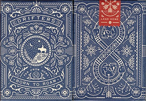 Drifters Playing Cards Poker Size Deck USPCC Dan & Dave Custom Limited Edition