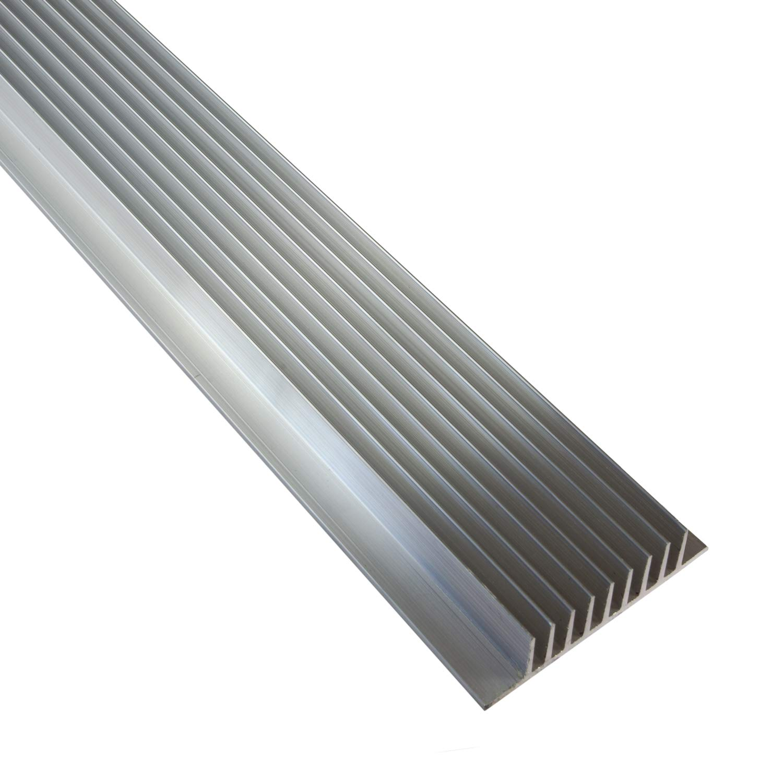 L x 22mm x 22/mm h x 86mm 100mm 10/cm X 1/m extrud/é en aluminium /à LED Dissipateur thermique: Sectionnelles Dimensions 146/mm W 1 H L
