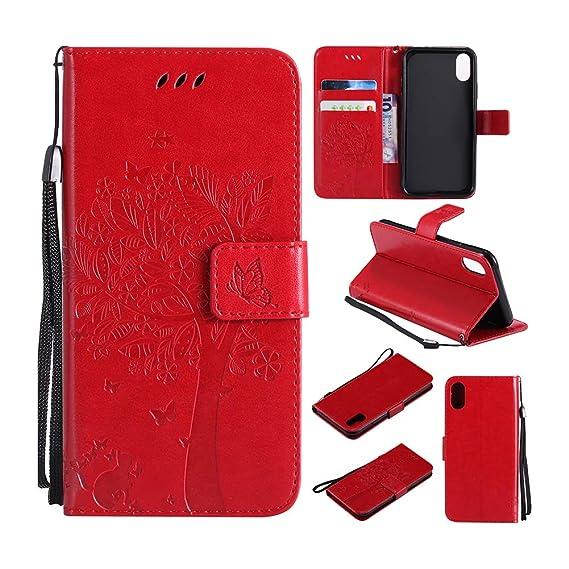 big sale 35c3a 643a6 Amazon.com: iPhone X Wallet Case, iPhone XS Case, [Upgrade Serise ...
