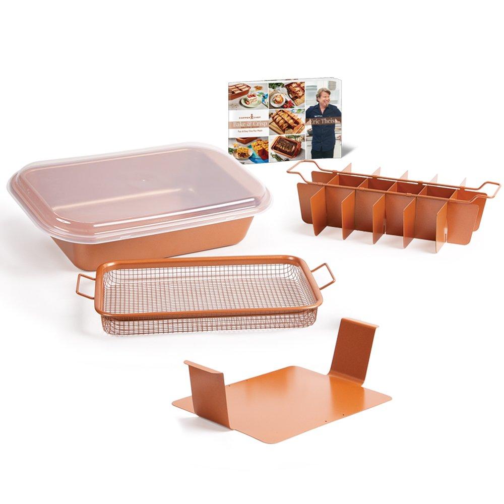 Copper Chef Crisper and Bake and Crisp System