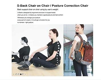 amazon com s back standard reguar black chair on chair posture