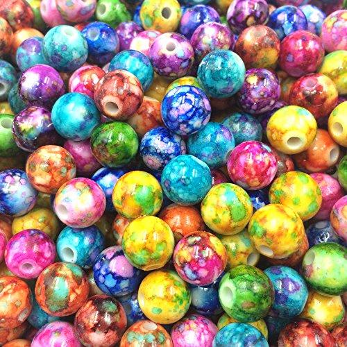 Resin Round Beads - 1