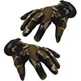 Imported Military Tactical Airsoft Shooting Hunting Full Finger Gloves L Camouflage