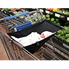 Binxy Baby Shopping Cart Hammock (Black)