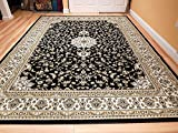 New Black 2x3 Rugs For Bedroom Black Foyer Rugs Indoor 2x4 Traditional Area Rugs Washable Rugs Clearance