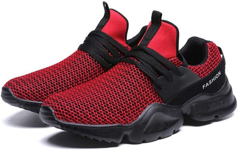 Xxoshoe Chaussure de Mode Respirante de Maille Respirante Rouge