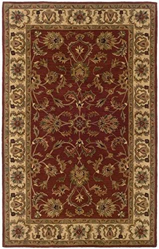 Oriental Weavers 23109 Windsor Area Rug, 12 x 15 , Red Ivory