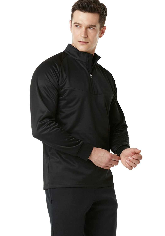 TSLA Mens Winterwear Sporty Slim Fit 1//4 Zip Fleece Lining Sweatshirt YKZ03 YKZ01 Tesla Gears