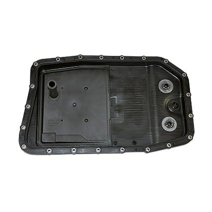 BMW Automatic Transmission Pan + Filter + Gasket + Drain Plug ZF OEM  24117571227