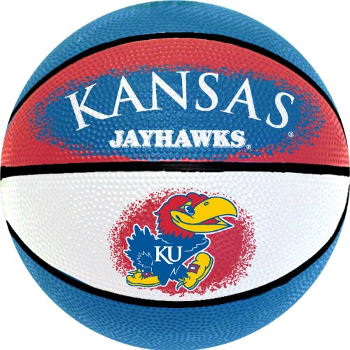 (NCAA Kansas Jayhawks Mini Basketball, 7-Inches)
