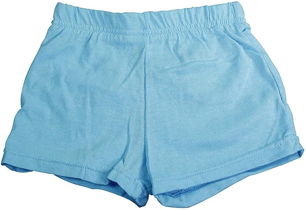 Little Girls Jersey Knit Gym Shorts Private Label Basic Editions