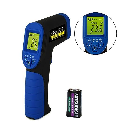 18 opinioni per FiBiSonic Termometro Infrarossi Digitale Senza Contatto Laser IR -50ºC a