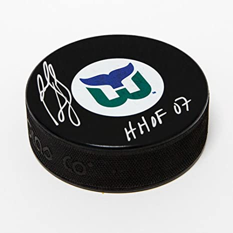 Image Unavailable. Image not available for. Color  Ron Francis Hartford  Whalers Autographed Retro Logo Hockey ... 8ad9bafc1