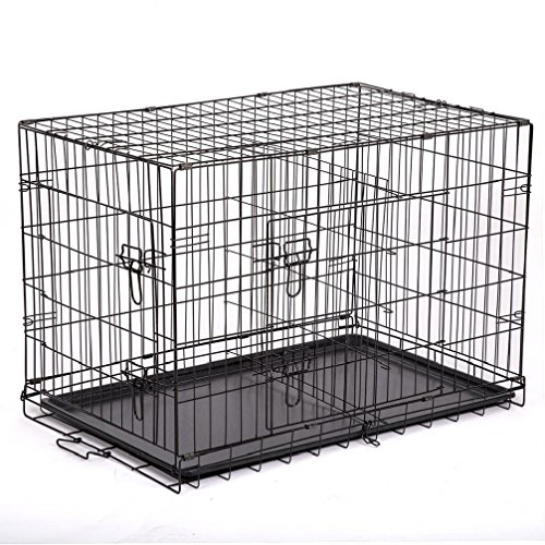 Dog Cage Cat Crate Kennel (48