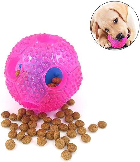 Leegoal Pelota de limpieza de dientes perro, juguetes de pelota de ...