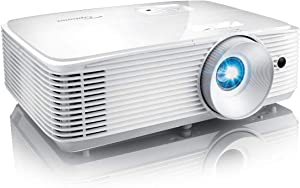 Optoma SH360 Affordable Home Projector | Indoor or Outdoor Movies, Up to 300"