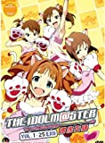The IDOLM@STER, TV Episodes 1-25, Complete Anime Series, in Japanese with English and Chinese Subtitles