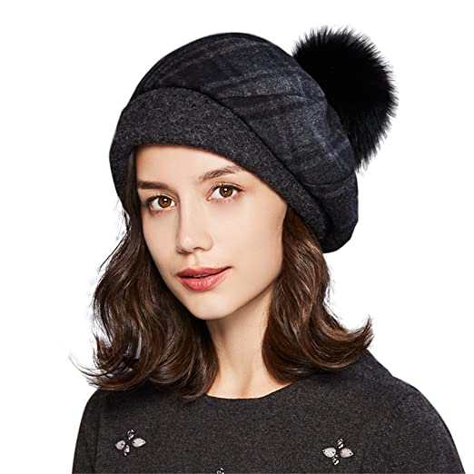 c395d08a Kenmont Woolen Beret Hat French Beret/Headwear Women's Adjustable ...