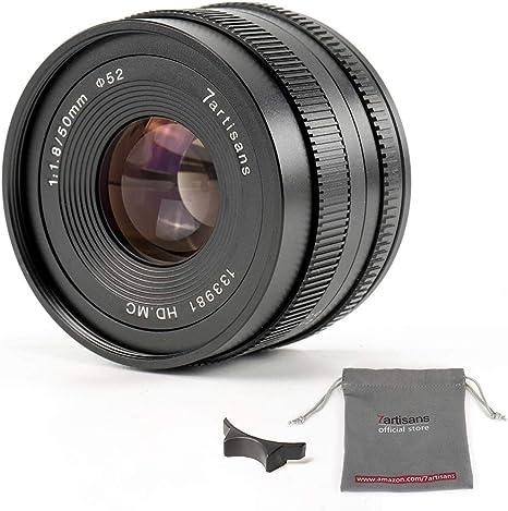 7artisans 50mm F1 8 Aps C Manuelle Fixed Objektiv Für Kamera
