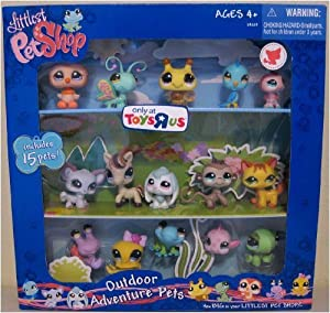 Littlest pet shop exclusive outdoor adventure for Fish and more pet store