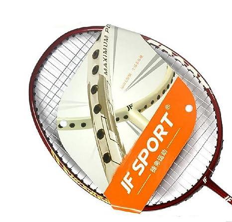 Pro restrung aluminio raqueta de bádminton raquetas con bolsa, 3 ...