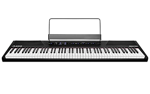 Alesis Recital - 88-Key Beginner Digital Piano/Keyboard with Full-Size Semi-Weighted Keys