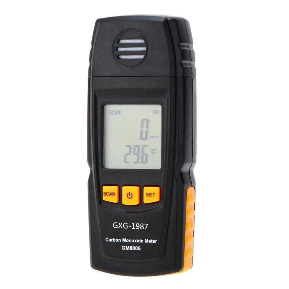 GXG-1987 GM8805 Handheld Carbon Monoxide Meter with High Precision CO Gas Tester Monitor Detector Gauge 0-1000ppm by GXG-1987