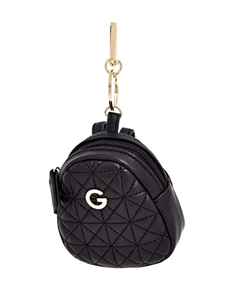 Amazon.com: G by GUESS Omerica Mini Mochila llavero para ...