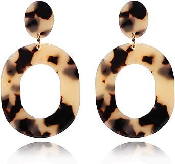 large earrings acrylic jewellery big yellow earrings plastic jewellery Fri-Yay acrylic earrings slogan earrings statement earrings