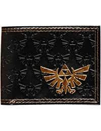 Zelda - All Over Emboss With Gold Foil Bi-Fold Wallet 2 x 2in