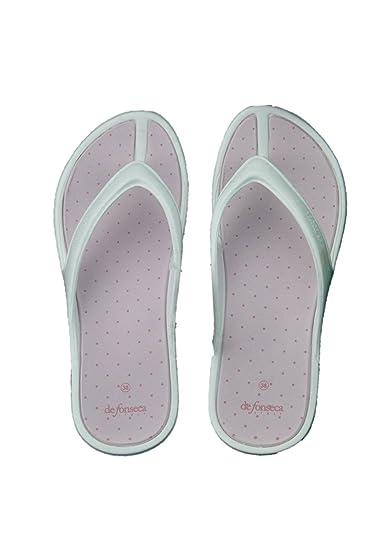 bb8dfae2981 de fonseca Woman flip Flops Slippers sea Swimming Pool Rubber ...