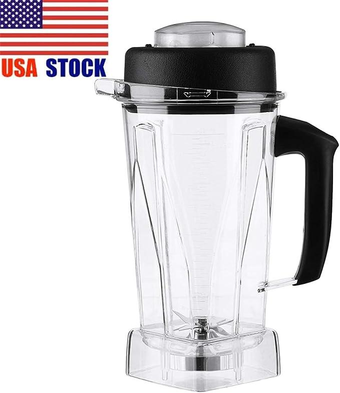 Amazon Com 2l Container Jar Jug Pitcher Cup Commercial Blender Spare Parts For Vi Ta Mix 60oz Home Kitchen Appliance Food Mixer Part Durable Kitchen Dining