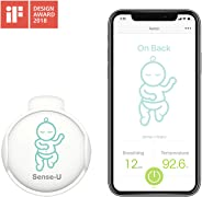 Sense-U Baby Monitor with Breathing Rollover Movement Temperature Sensors: Track Your Baby's Breathing, Rollover, Temperatur