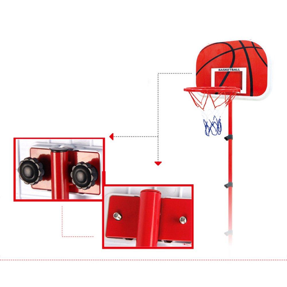 Pellor Verstellbare Hula Hoop Basketball Korb kann und Trittstufen f/ür Kinder