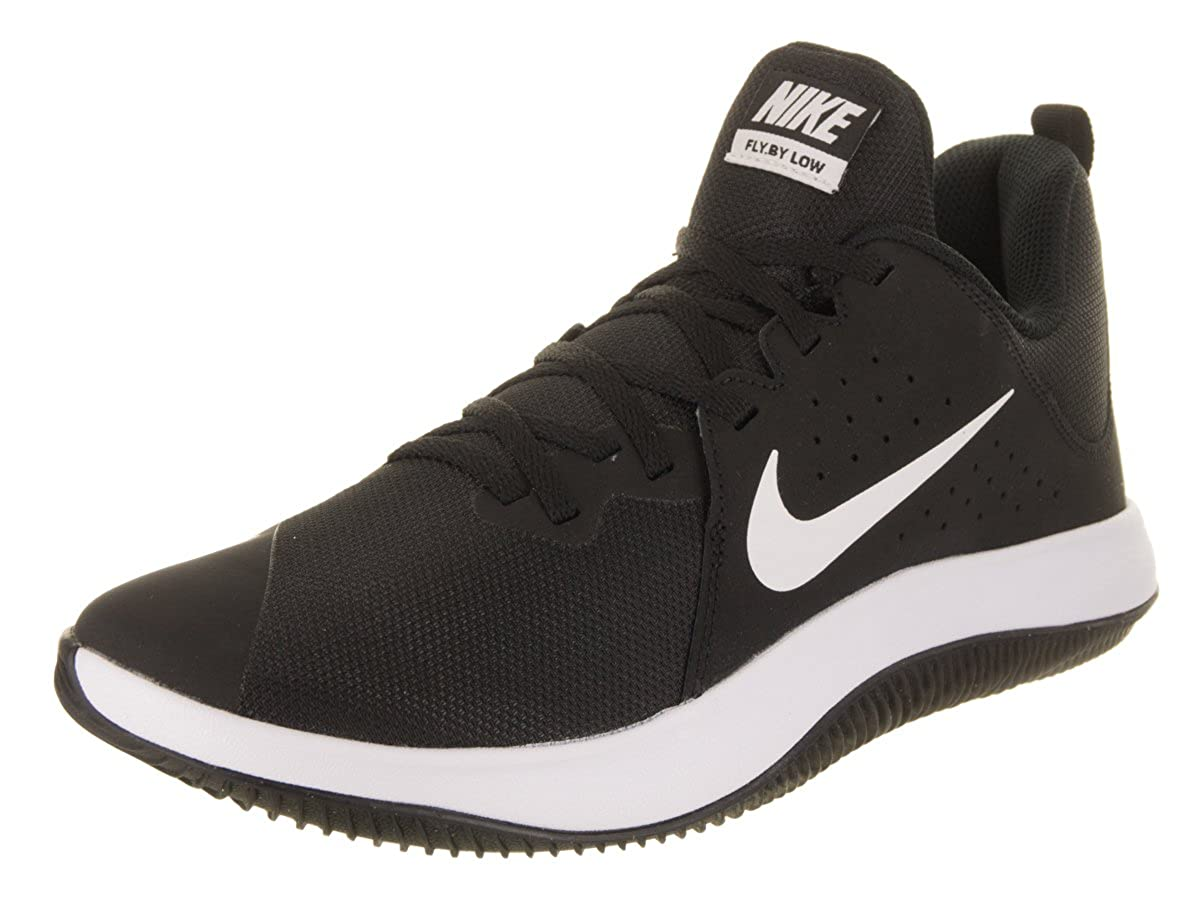 best website 43310 bbf22 Nike Men s Black White Fly by Low Running Shoes (908973-001)  Buy Online at  Low Prices in India - Amazon.in