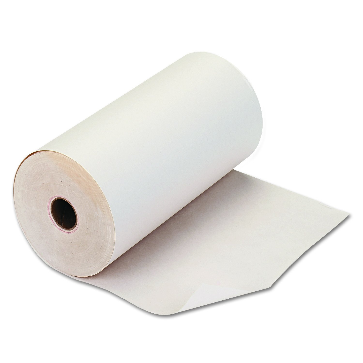 PM Company Teleprinter Roll, 8-7/16 Inch Width, 235 Feet Length, White, 1 per Pack (06210)