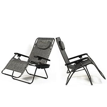Amazon Com Belleze Xl Oversized Zero Gravity Chairs Sets Of 2