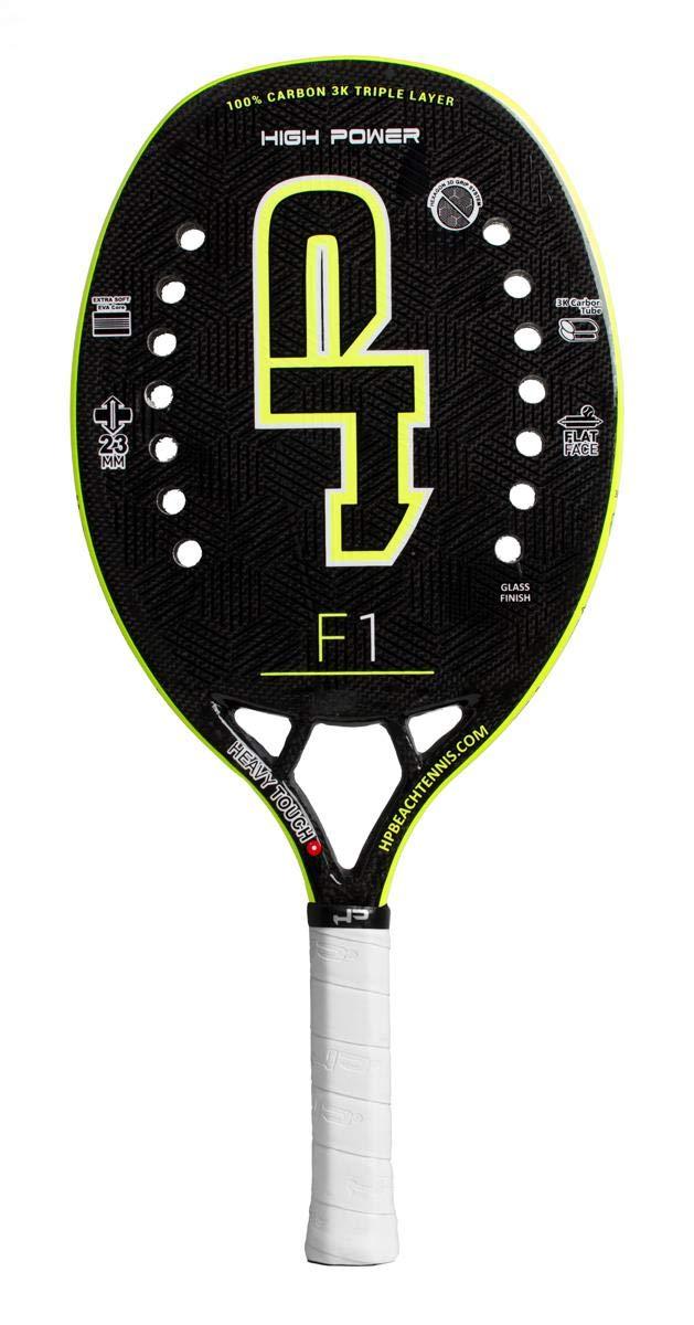 HP Pala de Tenis Playa F1 Yellow 2019: Amazon.es: Deportes y ...