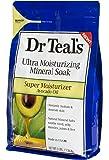Dr Teal's Ultra Moisturizing Mineral Soak Super Moisturizer with Avocado Oil, 3 Pound