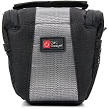 Shock-Absorbing, Water-Resistant Cross-Body / Shoulder Bag - Compatible with the Nextbase In Car Dash Cam 212 | Dash Cam 312GW Lite | Dash Cam 402G (with BONUS Cleaning Cloth) - by DURAGADGET