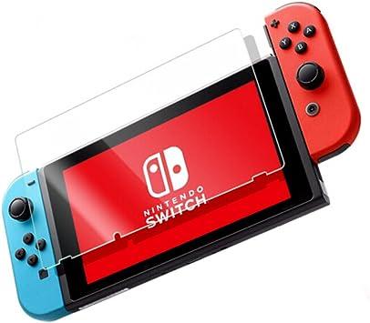 2x Protector de Pantalla para Nintendo switch, Cristal Templado Para Nintendo switch Anti-rreflejos Anti-huella Digital Sin Burbujas Vidrio Templado Proteger Película: Amazon.es: Electrónica