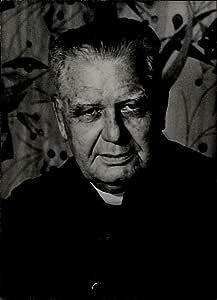 Vintage fotografía de retrato de Monseñor Eliseo Perez