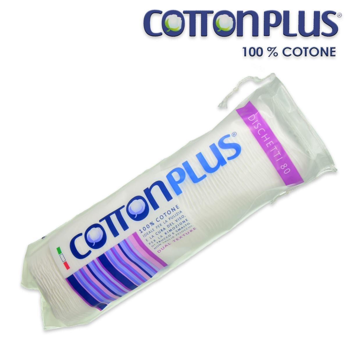 Cotton Plus Dischetti Strucc.80 Dischetti AIRCLEAN
