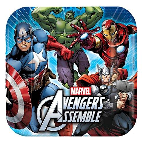 Marvel/Marvel Comics 'Avengers' Kids Birthday Party Pack (Hulk, Iron Man, Captain America, (Avengers Custom Invitations)