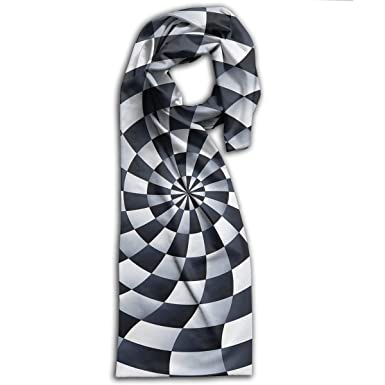 Twirl Hypnosis Stylish Scarf Wrap Shawl Ease Printed Scarves Cape At