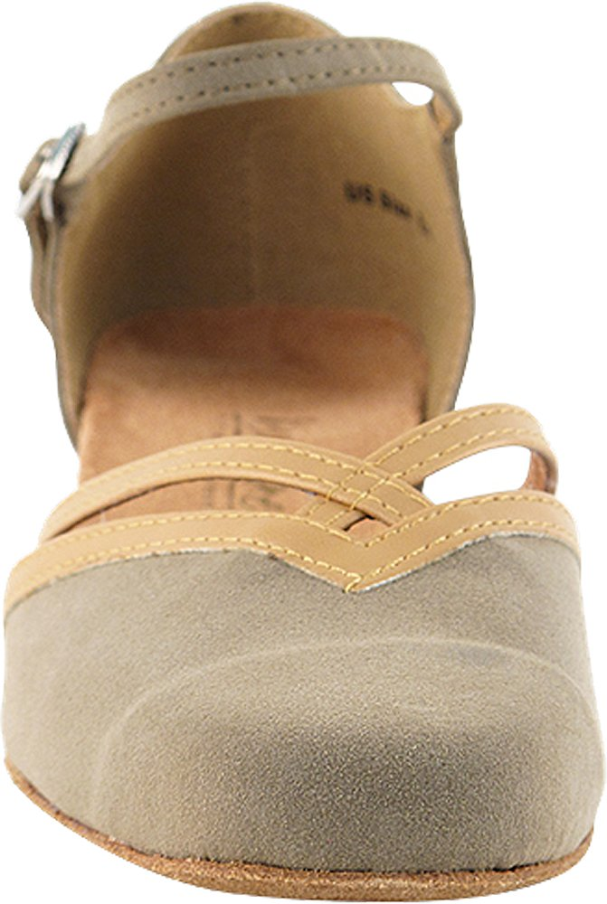 Womens Ballroom Dance Shoes Party Salsa Practice Shoes 8881EB Comfortable -Very Fine 1